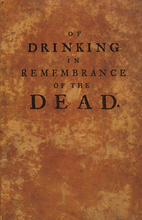 Of Drinking in Remembrance of the Dead