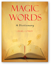 Magic Words: A Dictionary softcover book from Red Wheel